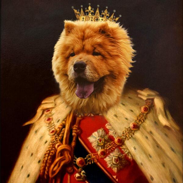 kral Chow Chow Portresi