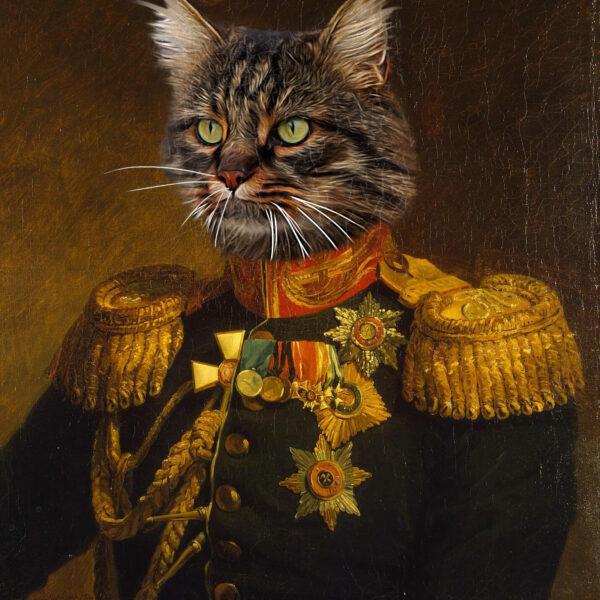 General Kostümlü Evcil Hayvan