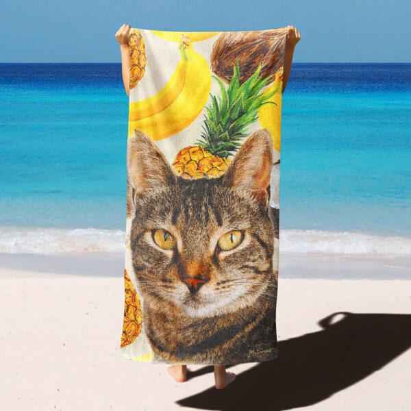 Yazlık desenli özel tasarım polar battaniye