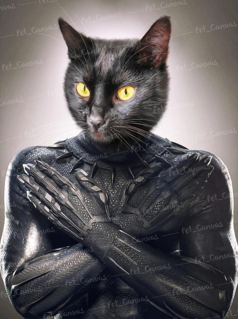 süper kahraman kedi panter