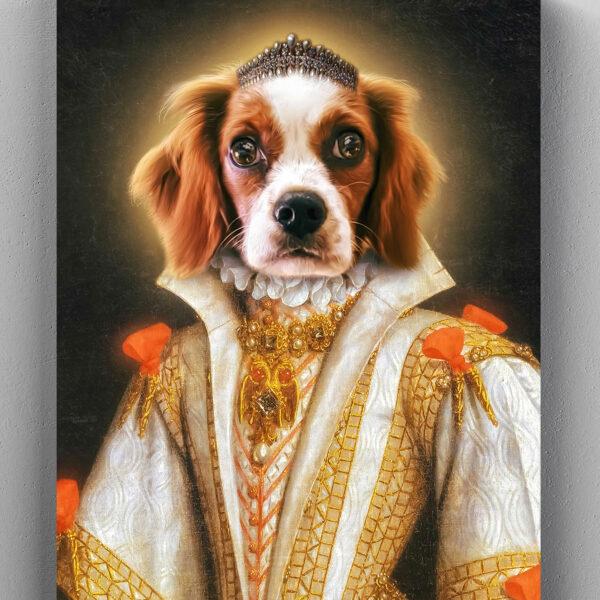 king charles cavalier kraliçe