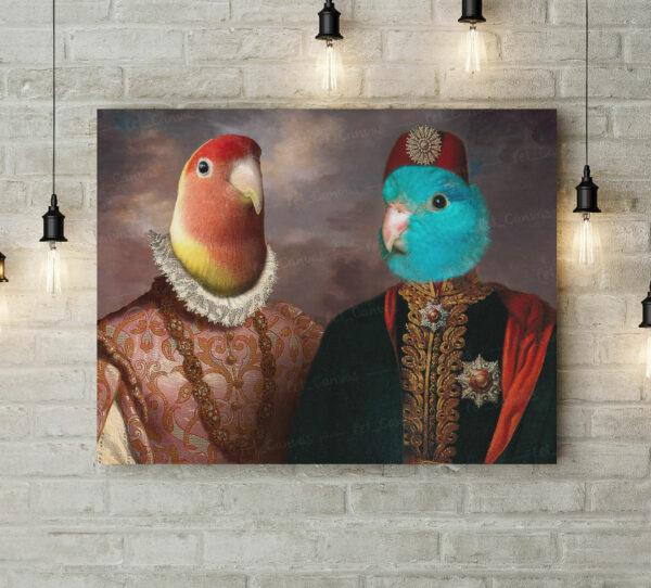 papağan rönesans tasarımı