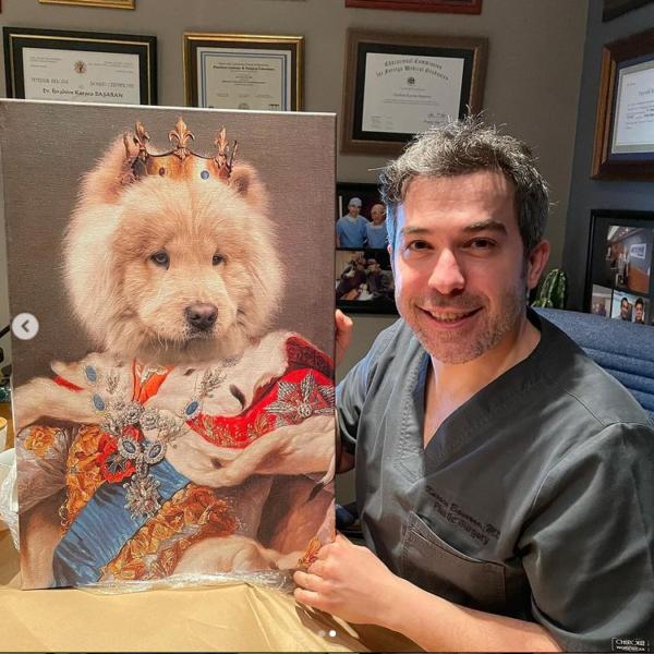 Doktor Karaca Başaran Kral ChowChow Köpek Tablosu