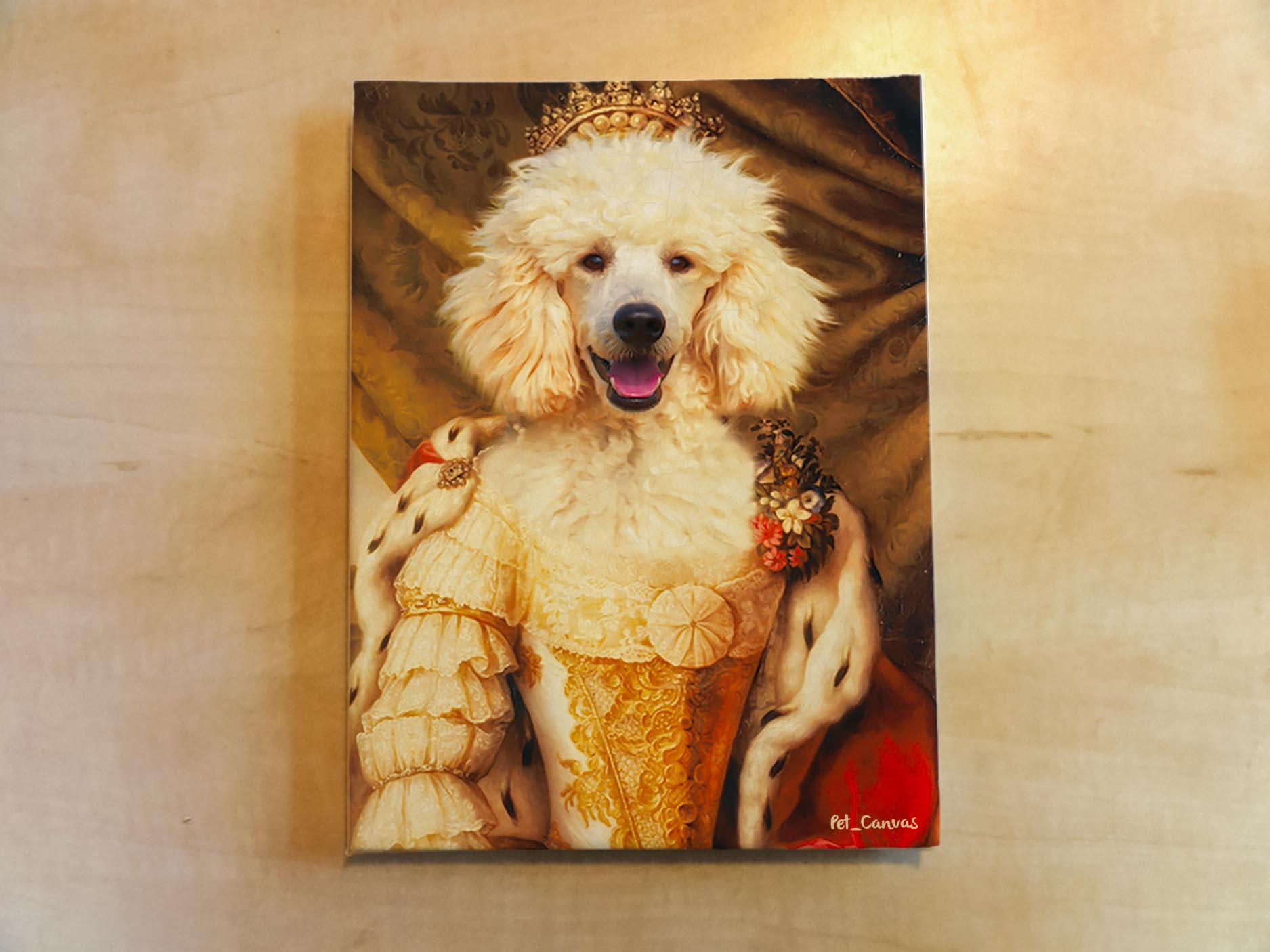 Evcil Hayvan Rönesans Kraliçe Poodle