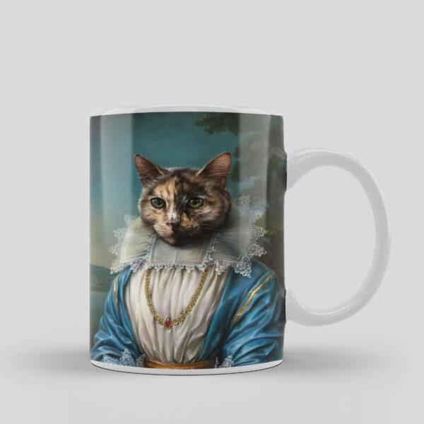 asil kedi tasarımlı kupa