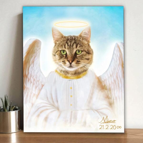 melek tekir kedi tablosu