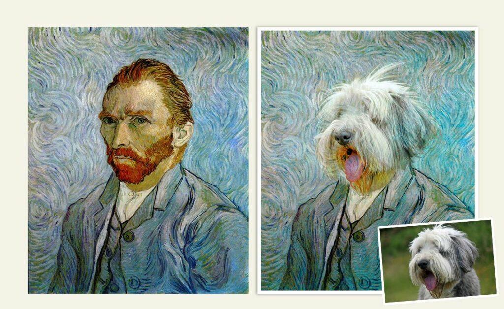 van gogh köpek portresi