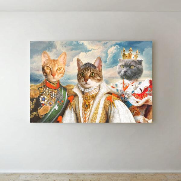 3'lü rönesans evcil hayvan tablosu